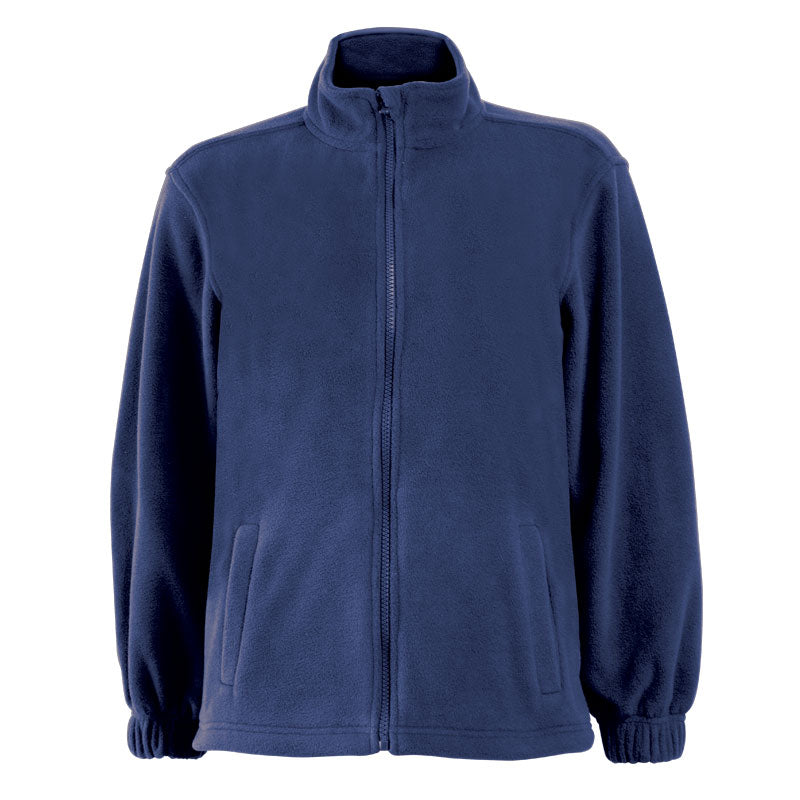 Sherpa Kids Fleece Top - Navy