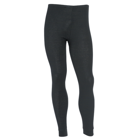 Kids Polypro Thermal Long John Pant - Black