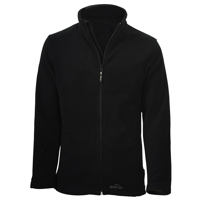 Gumbu Fleece Top - Black