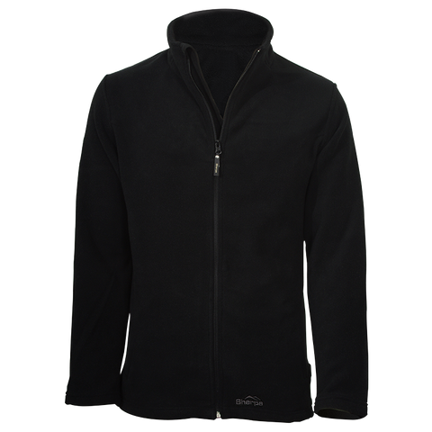 Sherpa Gombu Fleece Top - Black