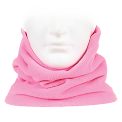 Sherpa Fleece Neckwarmer - Pink