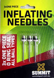 One Piece Inflation Pump Needles