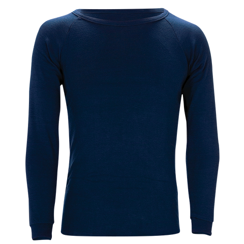 Polypro Longsleeve Thermal Top - Navy