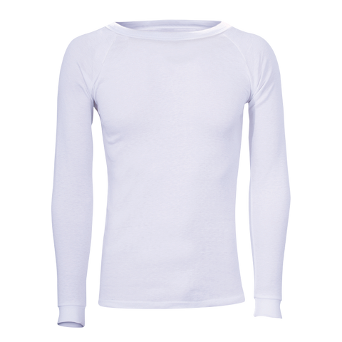 Polypro Longsleeve Thermal Top - White