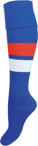 Western Bulldogs Supporter Socks