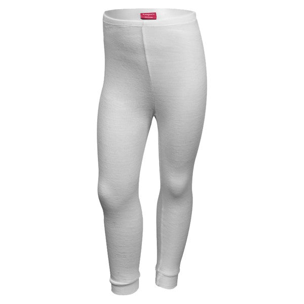 Polypro Thermal Long Johns - White