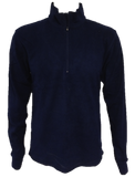 Ladies Microfleece Top - Navy