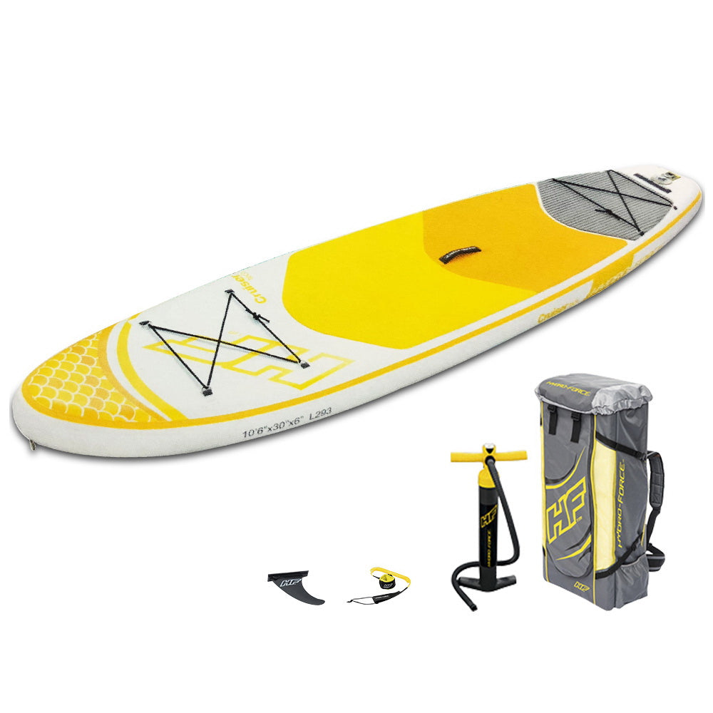 Best way Stand Up Paddle Board - Yellow