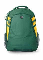 Tasman Backpack - Green/Gold