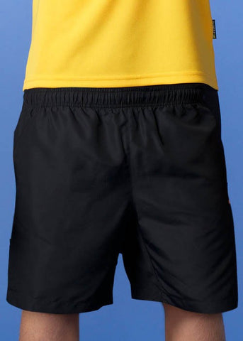 Kids Pongee Shorts - Navy