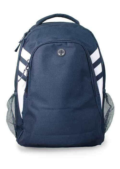 Tasman Backpack - Navy/White
