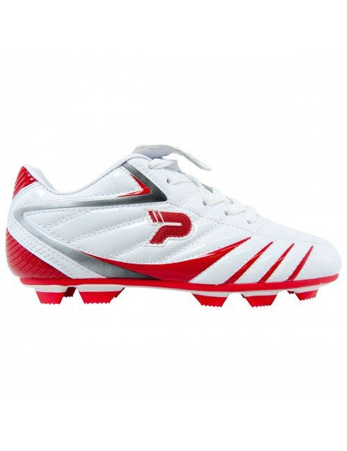 Patrick PTB 13 Football Boot - White/Red