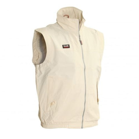 Slam Mens Summer Sailing Vest - Beige