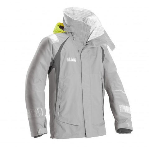 Slam Force 3 Offshore Yachting Jacket - Light Grey