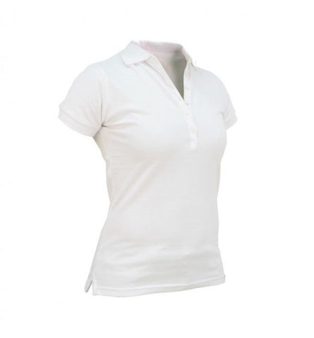 Slam Women's Roseland Polo - White