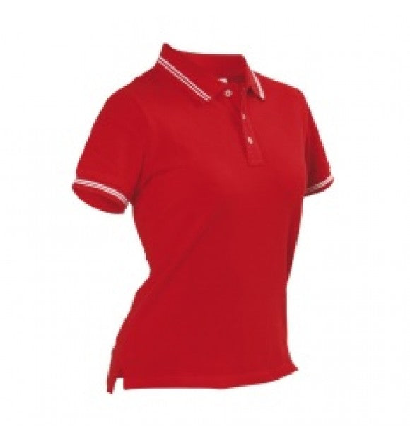 Womens Regatta Polo - Red