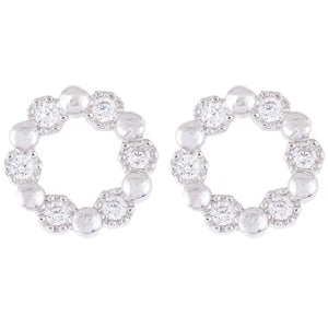 Eve Cubic Stud Earrings