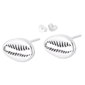 Cowrie Stud Earrings