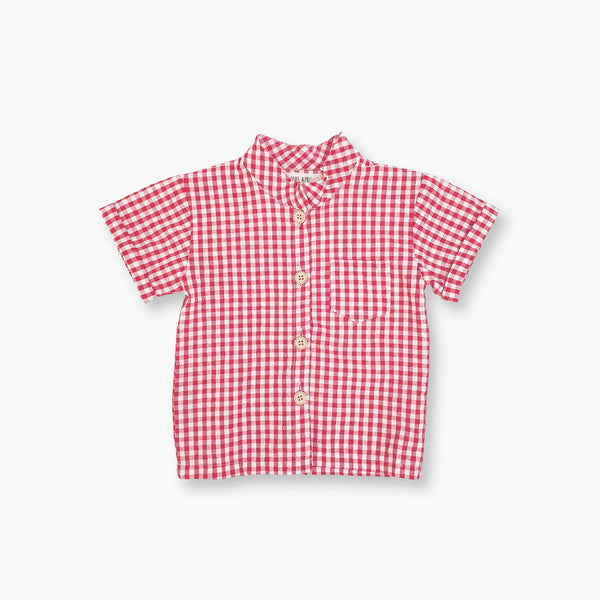 Alfie Gingham Top