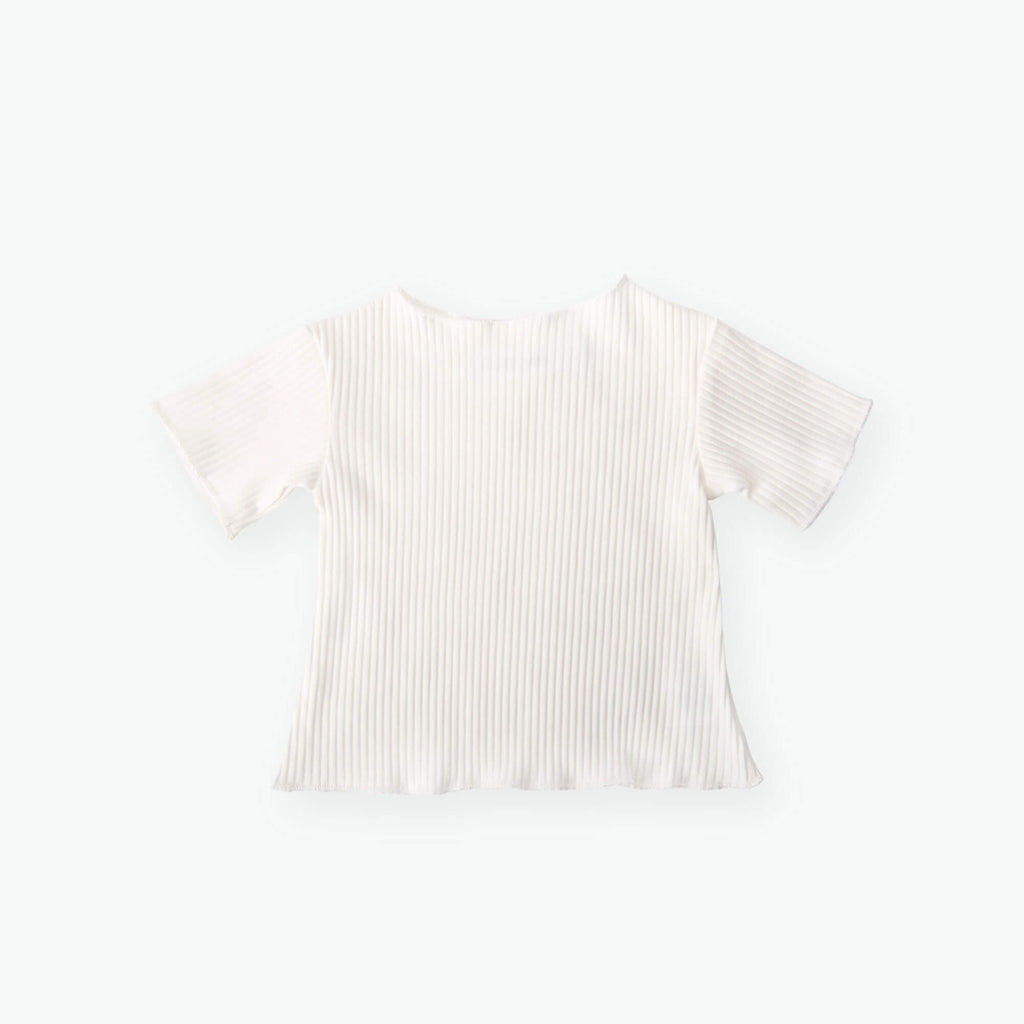 Ally Ruffle Cotton Top