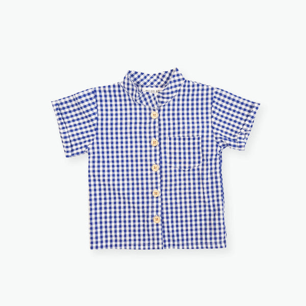 Archie Gingham Top