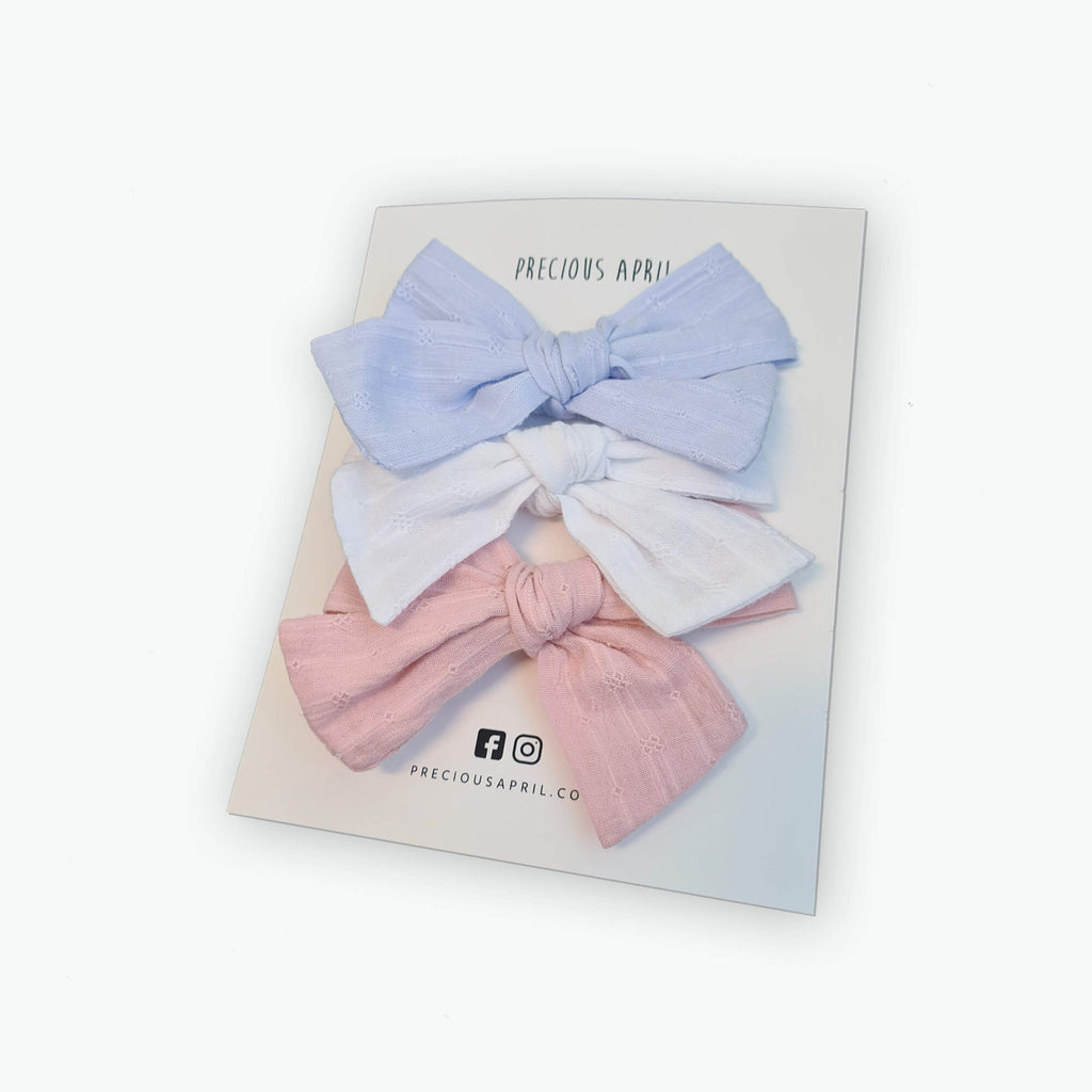 Rosie Bow Clips Set