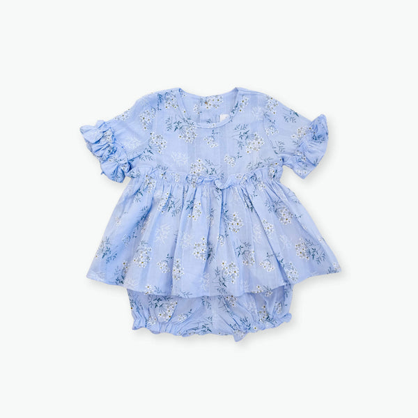 Leah Floral Set - Blue
