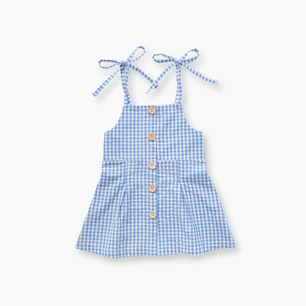 Lucia Gingham Dress