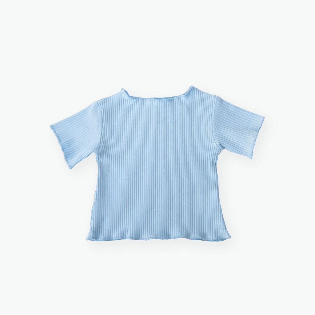 Willow Ruffle Cotton Top