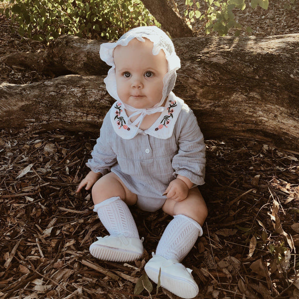 Anne - Vintage Romper Set - Precious April
