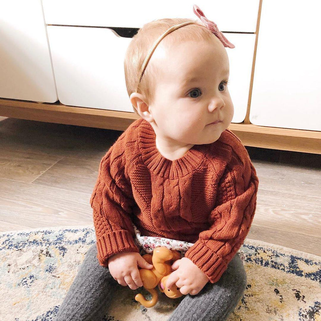 Olive Knitted Jumper - Precious April