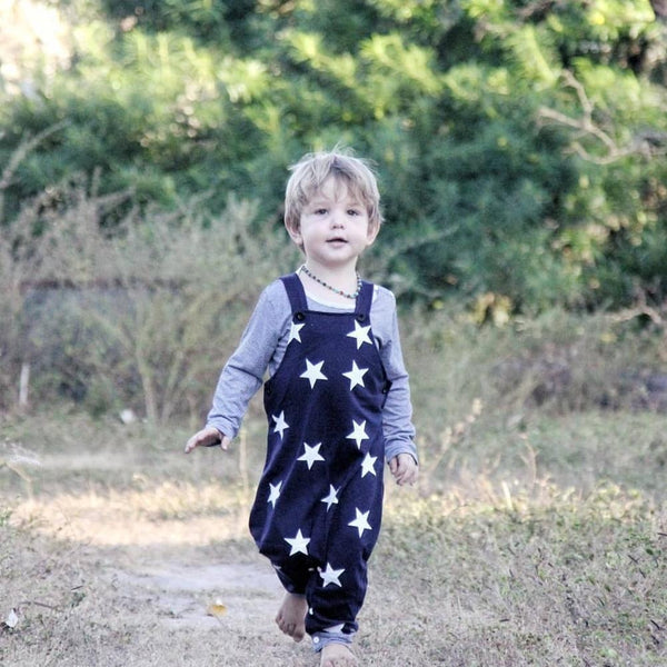 William - Stars Print Outfit Set - Precious April