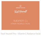 Treat Yourself Pro – Vitamin C Radiance Facial A professional facial treatment for use at home