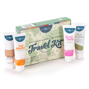 Alexandria Professional Full Circle of Skin Conditioning Travel Kit