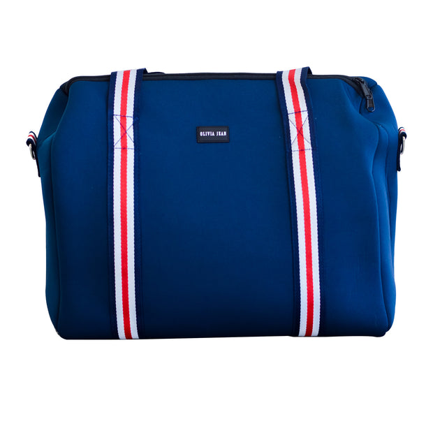 Alexis (Navy) Weekender Neoprene Bag