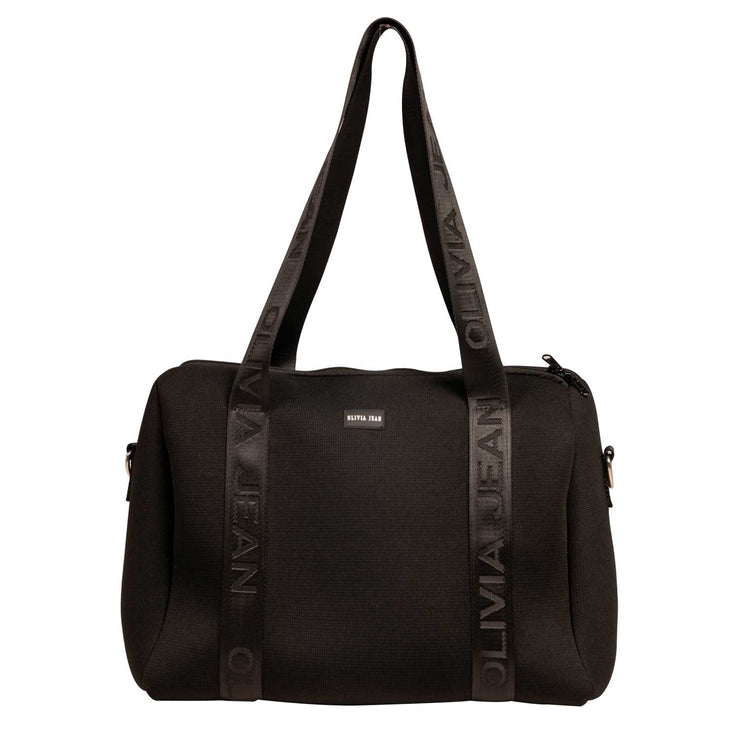 Manhattan (Marle Grey) Neoprene Tote Bag- With Zip Closure