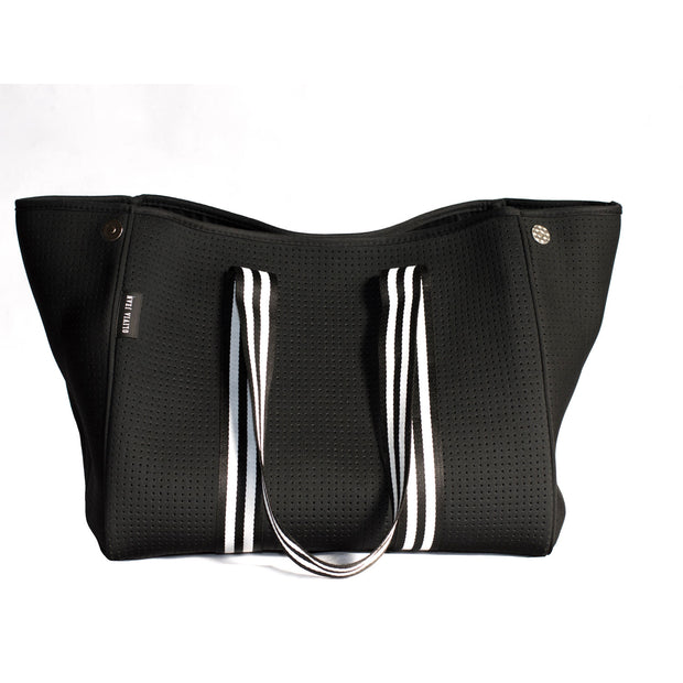 Aria (Black) Gym/Beach/Nappy Neoprene Tote Bag