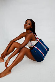 Noosa (Navy) Neoprene Tote Bag