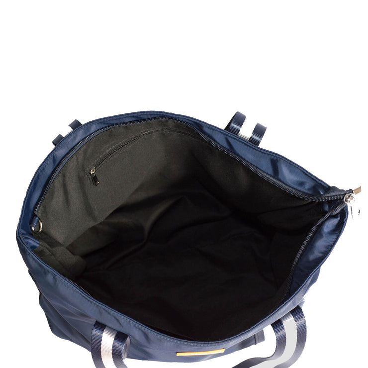 New Yorker (Navy) Nylon Tote Bag
