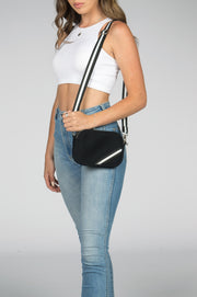 Suki (Black) Neoprene Crossbody