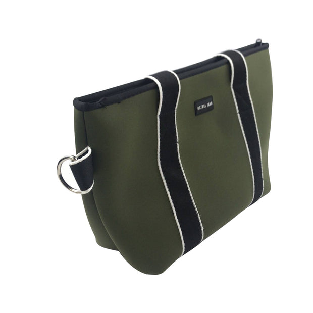 Harper (Khaki Green) Small Neoprene Tote/Crossbody Bag
