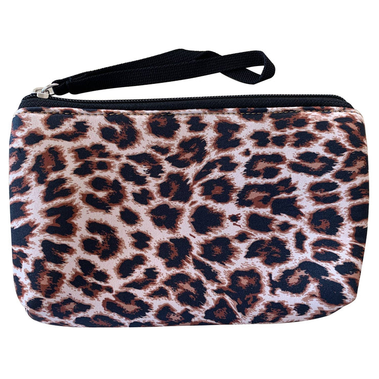 Lana (Leopard) Neoprene Purse