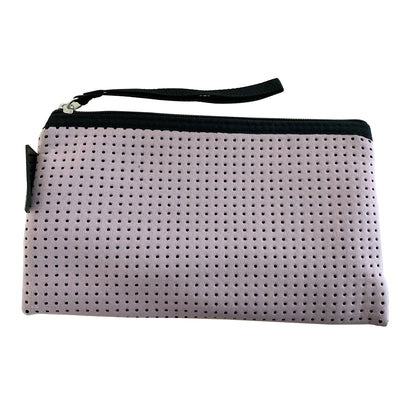 Lilac Neoprene Purse