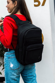 Brooklyn Backpack (Black) Baby / Travel / Gym