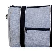 Alexis (Marle Grey) Weekender Neoprene Bag- With Zip Closure