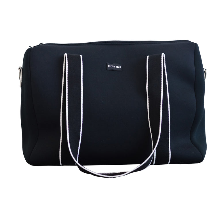 Alexis (Black) Weekender Neoprene Bag