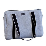 Alexis (Marle Grey) Weekender Neoprene Bag