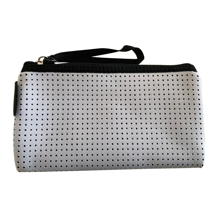 White Neoprene Purse