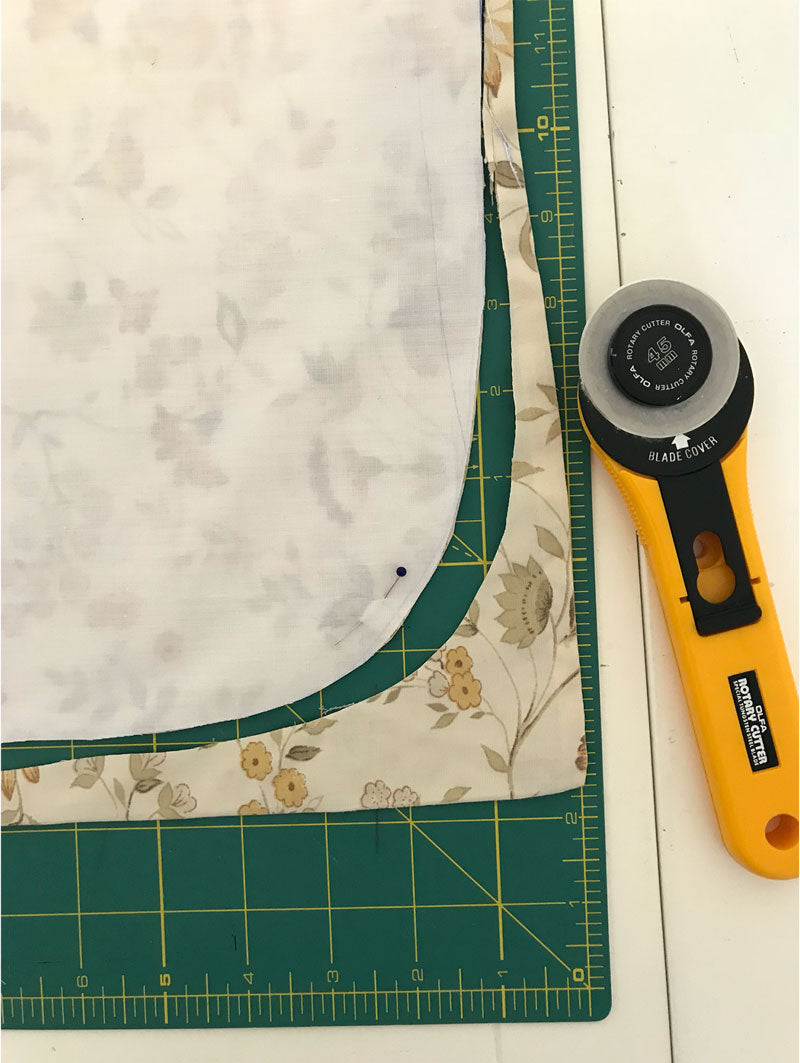 Quick DIY Fabric Scrap Bag