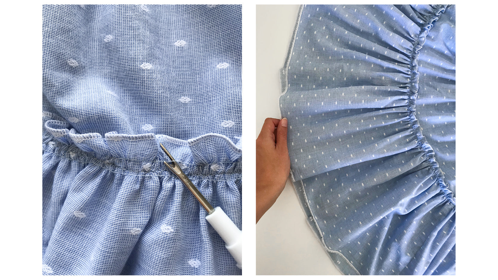 THE KAMI SKIRT DIY SEWING PATTERN TUTORIAL THE HEMMING